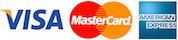 (Stripe) Visa - MasterCard - AmEx